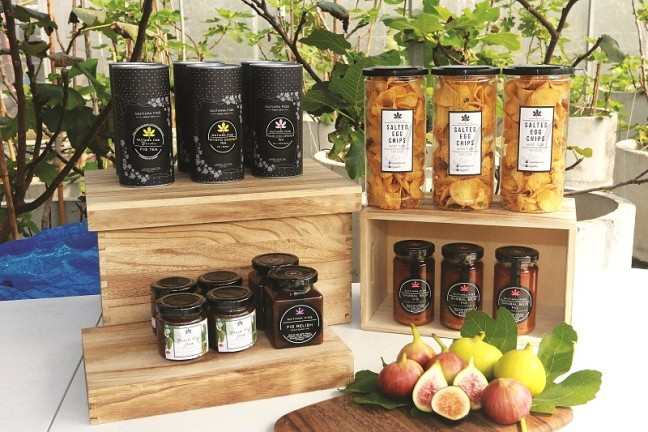 Mutiara Figs makes products such as jams tea and sambal with figs Photo Mutiara Figs